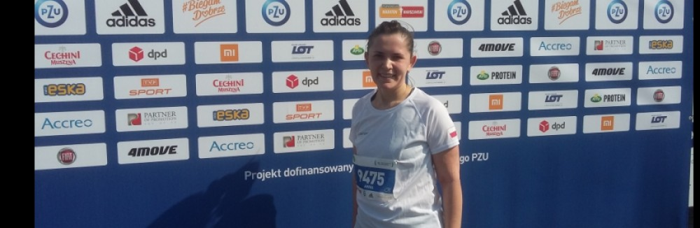Our representative at Warsaw PZU Half-marathon